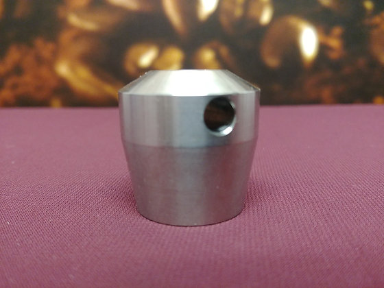 Round metal side clamp knob for Mahlkonig VTA6S grinder