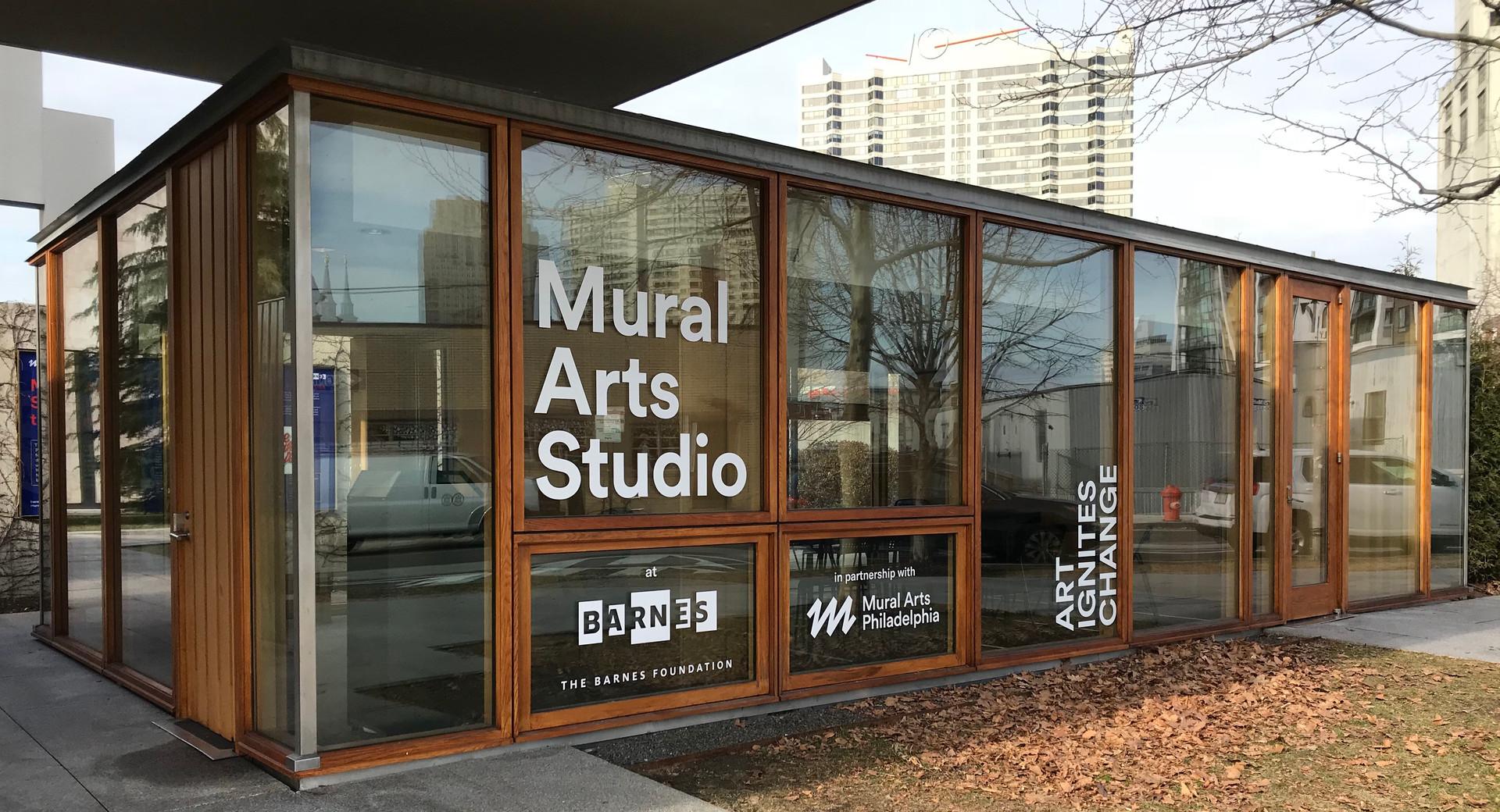 Mural Arts Studio at the Barnes