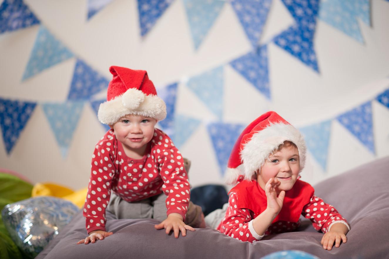 Joulukorttikuvaukset lastentapahtumissa