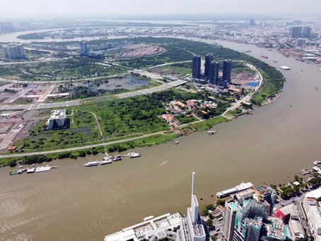 A New Turning Point for Lotte's Billion-Dollar Project Thu Thiem Eco-Smart city