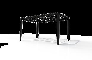 FRONT Pergola 10x16 Black NoSlat.png