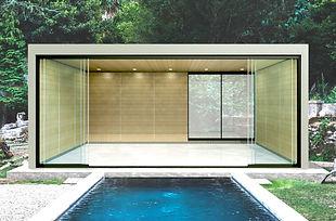 Modern Building Poolhose