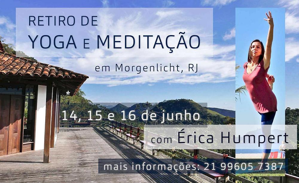Retiro de Yoga e Meditação com Érica Humpert