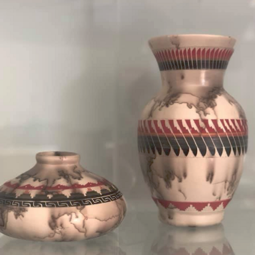 Navajo, Zuni and Kumeyaay pottery