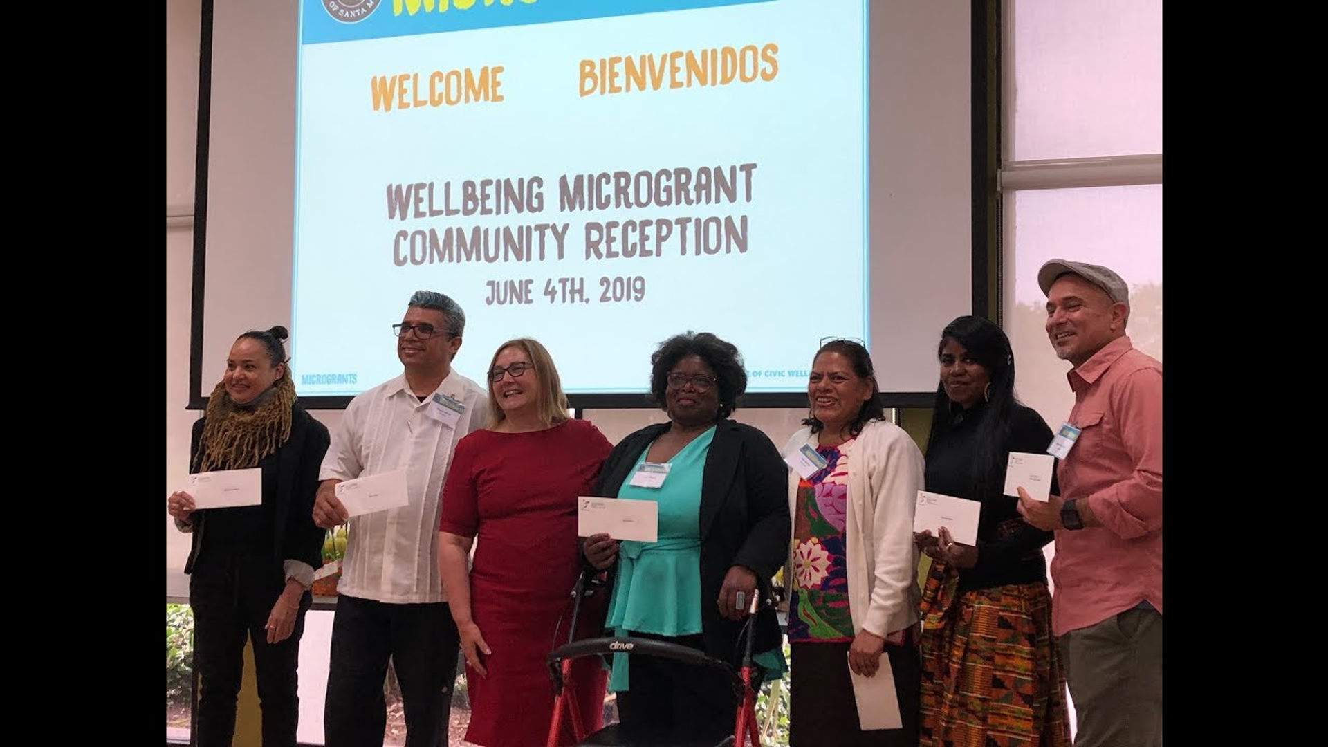 Santa Monica Civic Wellbeing: Microgrants