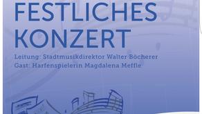 Festliches Konzert dieses Jahr mit Harfenspielerin M.Meffle