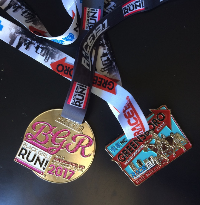 Mother's Day, Medals, and the Math of Racing : NC 13.1 Race Recap