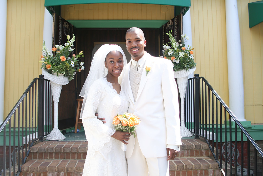 Mr. and Mrs. Najee-ullah, May 27, 2007