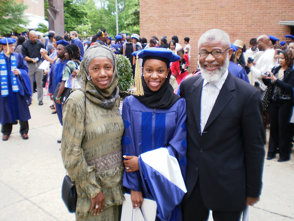 Dr. 'Ali, PhD Anatomy, Howard University 2009