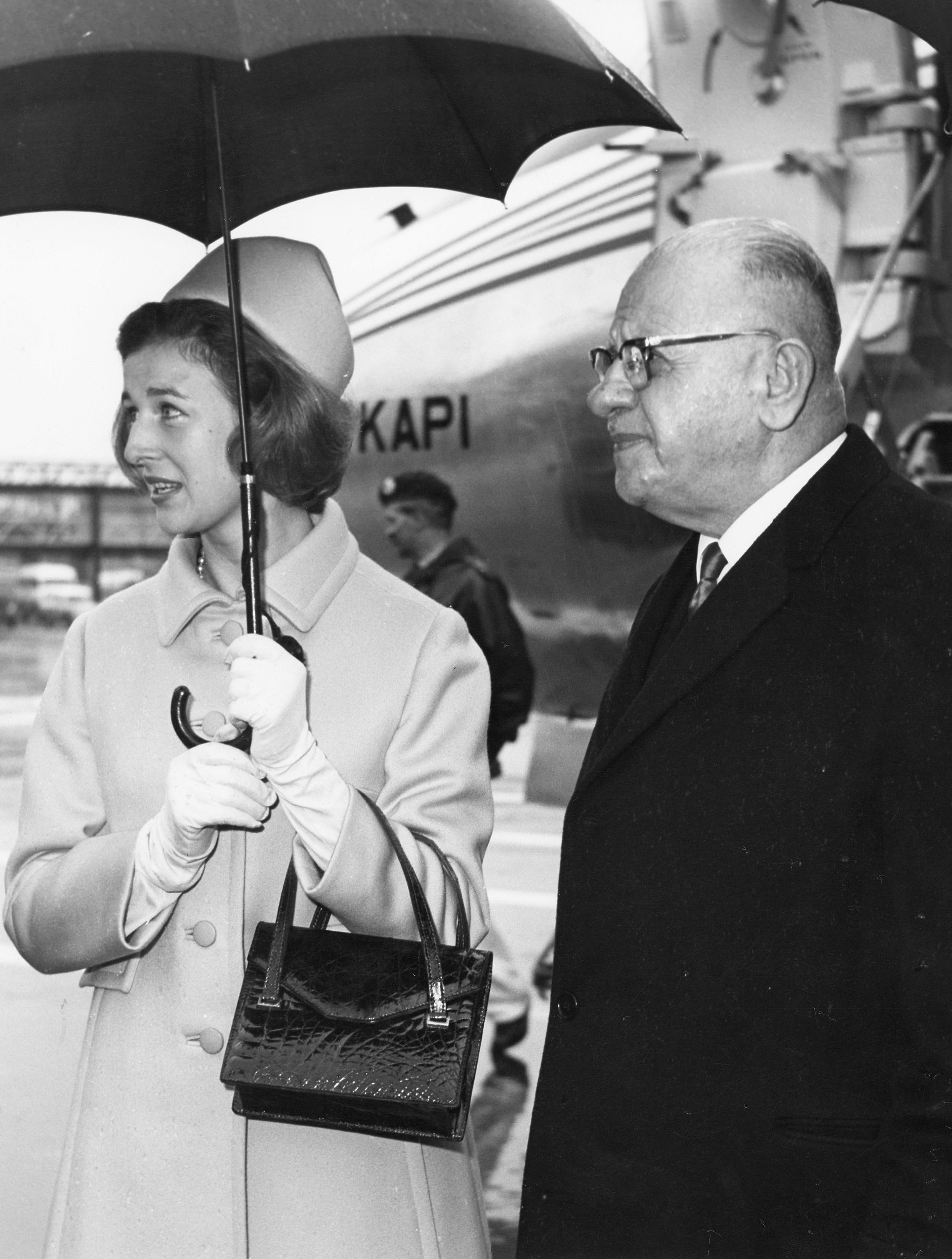 princess alexandria and turk pm 1967