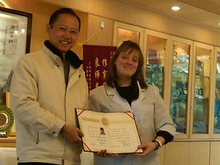 Practitioner Receiving Certificate In China