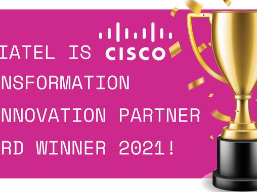 Viatel is Cisco Transformation & Innovation Partner Award Winner 2021