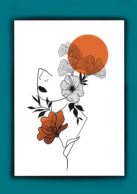 ARTWORK A4 Flower Power