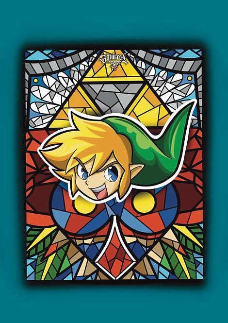 Affiche 70x50cm Zelda