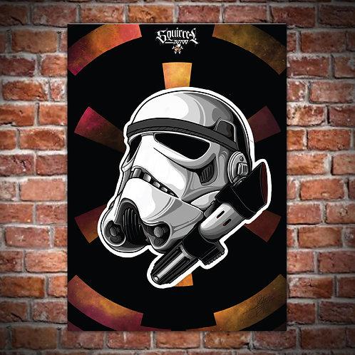 Artwork 70x50cm Stormtrooper