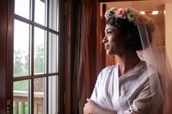 bride Brianna before Lawhon wedding
