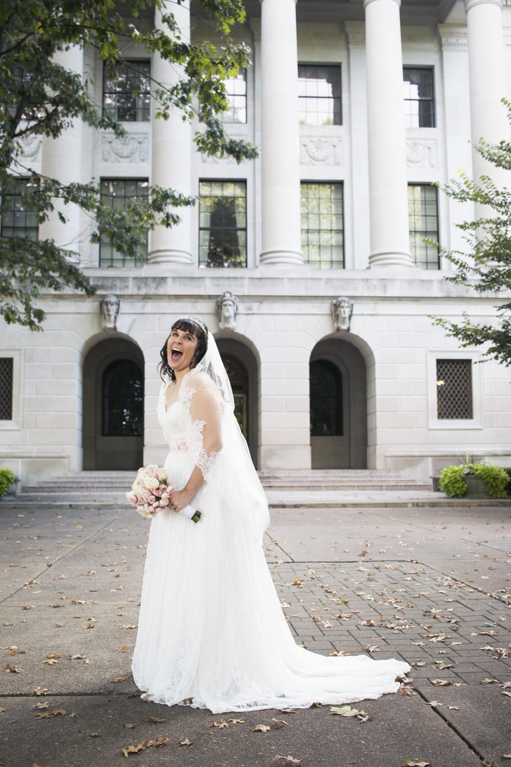 portrait of Bride Alisha