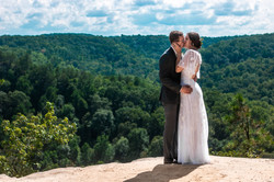Gabby and Tait at Red River Gorge