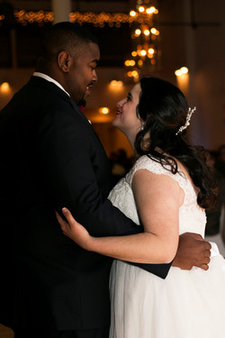 Tessa and Shawn's first dance