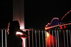 Olivia at the Big Four Bridge