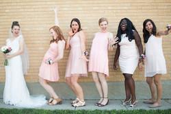 Tori's bridal party