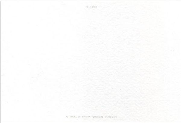 ポストカード,shinozukatomoko