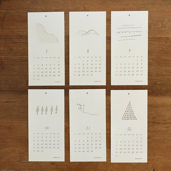 calendar2017,shinozukatomoko