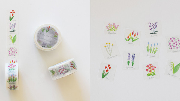 マスキングテープ Full Bloom
