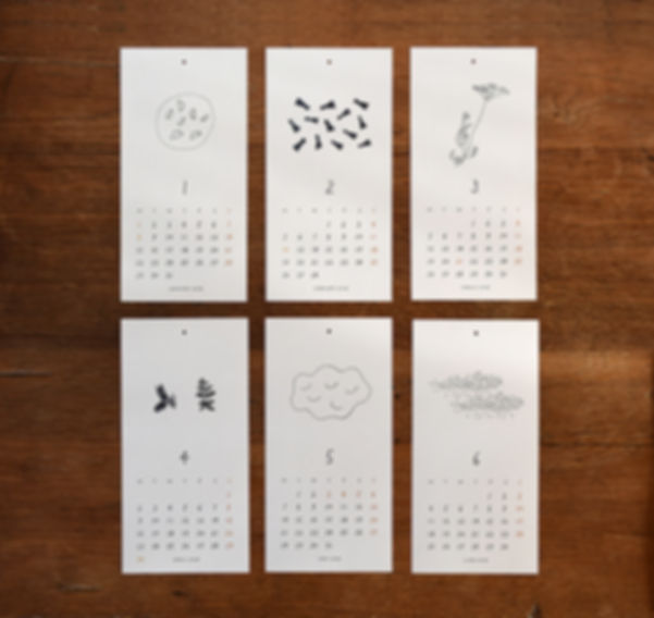 calendar2017L,shinozukatomoko