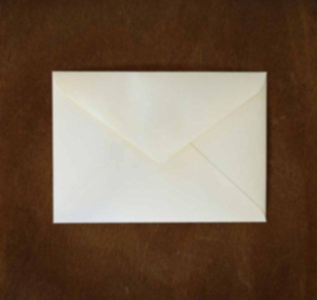 封筒付き A5二つ折りカード〈花柄〉