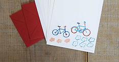 mini LETTER SET ,自転車