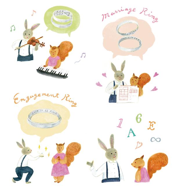 ゼクシィアプリ『指輪に刻みたい!刻印メッセージ文例集』