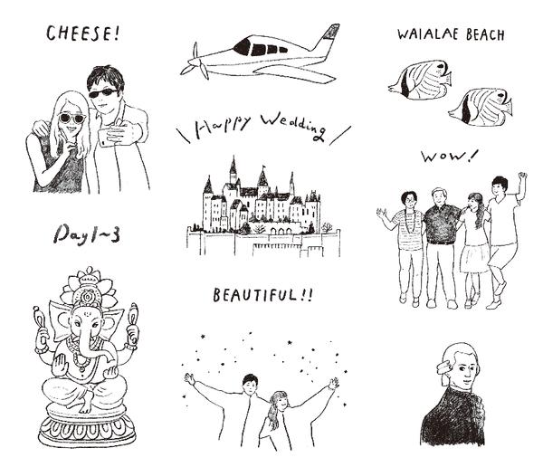 ゼクシィアプリ「海外ウエディング花嫁発★式前後のとびっきり楽しい旅プラン実例5」記事