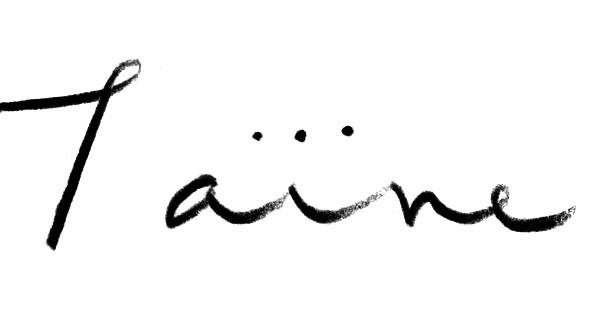 「Taine」ロゴマーク