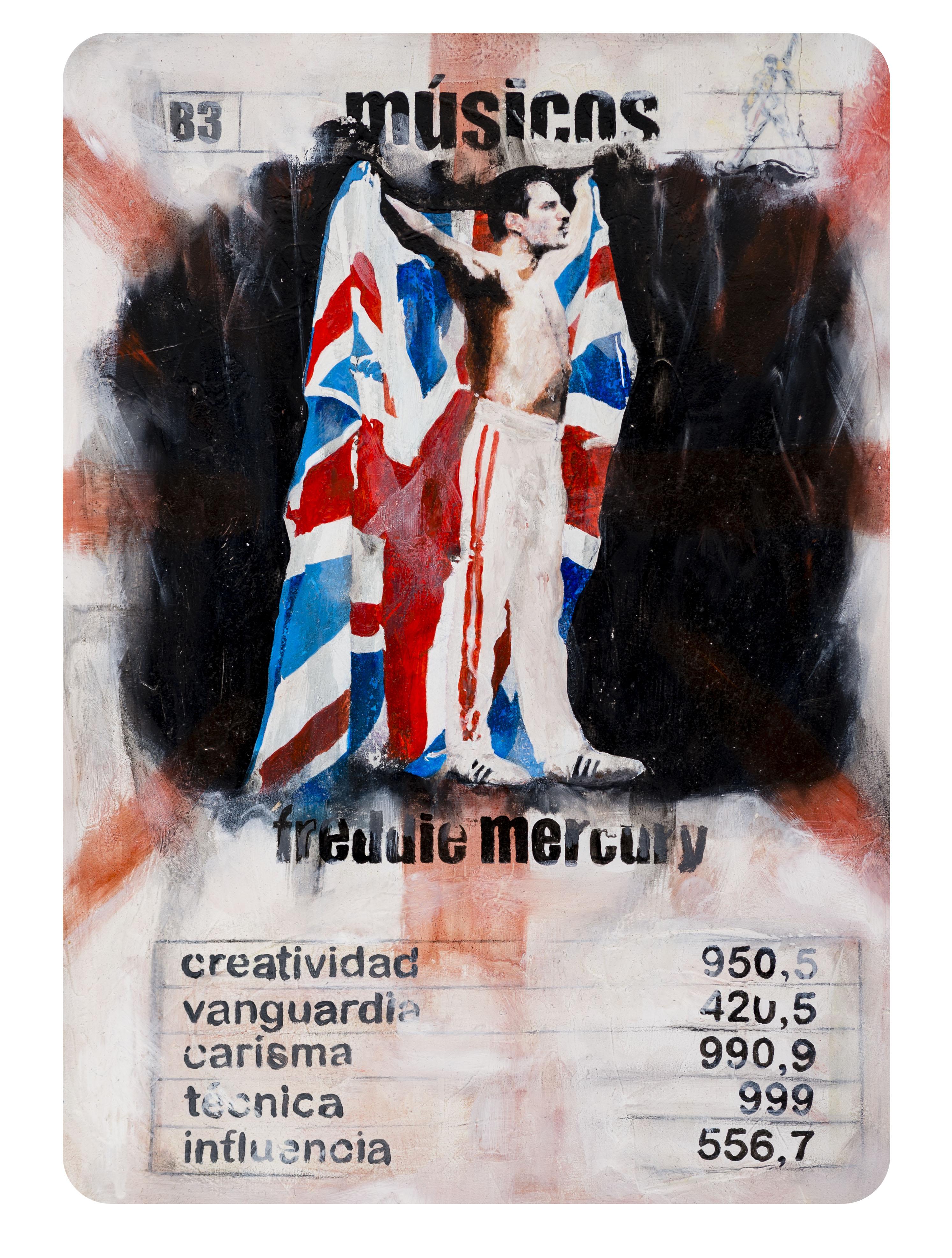 B3 Naipe Freddie Mercury