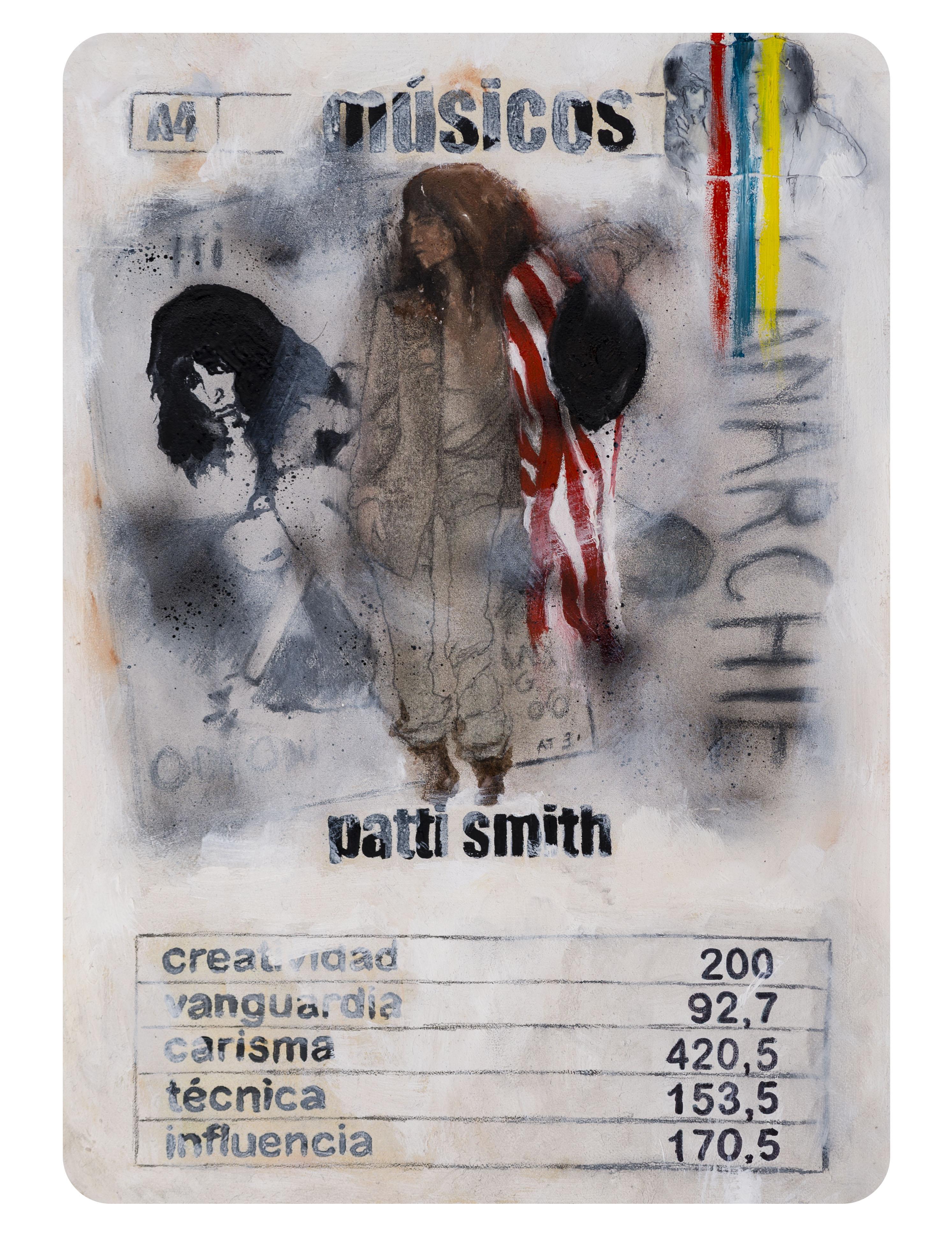 A4 Naipe Patti Smith