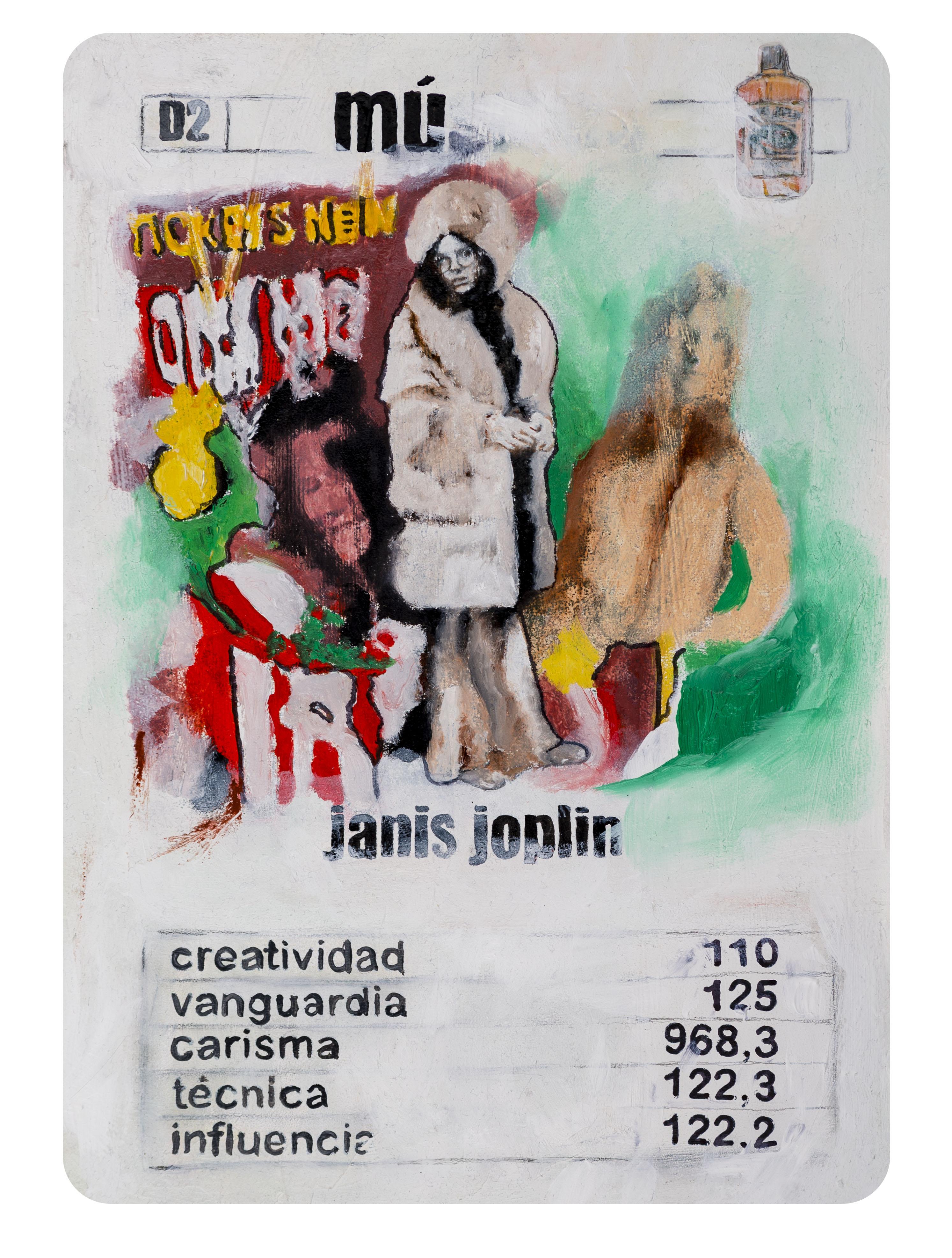 D2 Naipe Janis Joplin