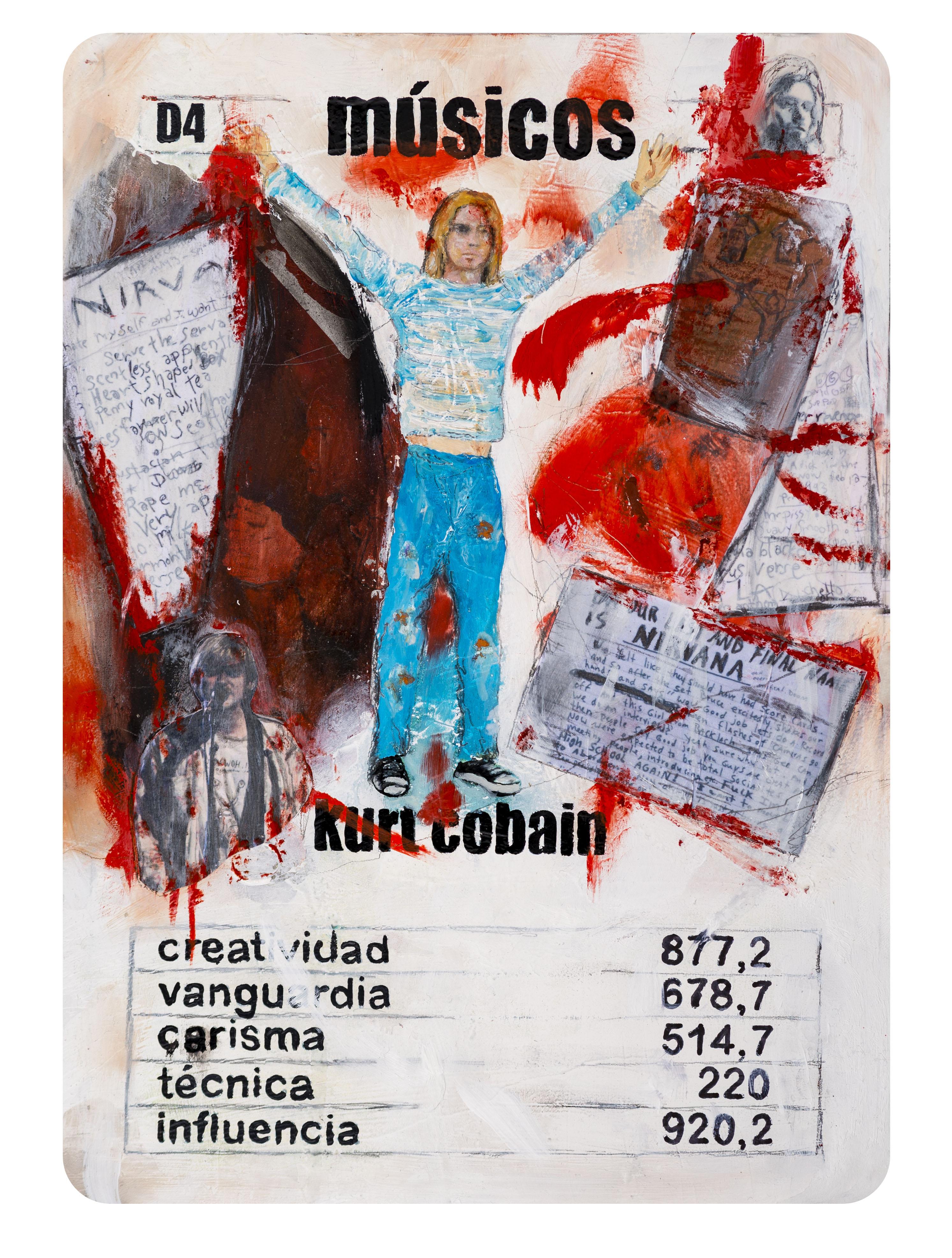 D4 Naipe Kurt Kobain