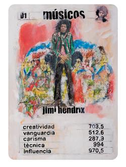D1 Naipe Jimmi Hendrix