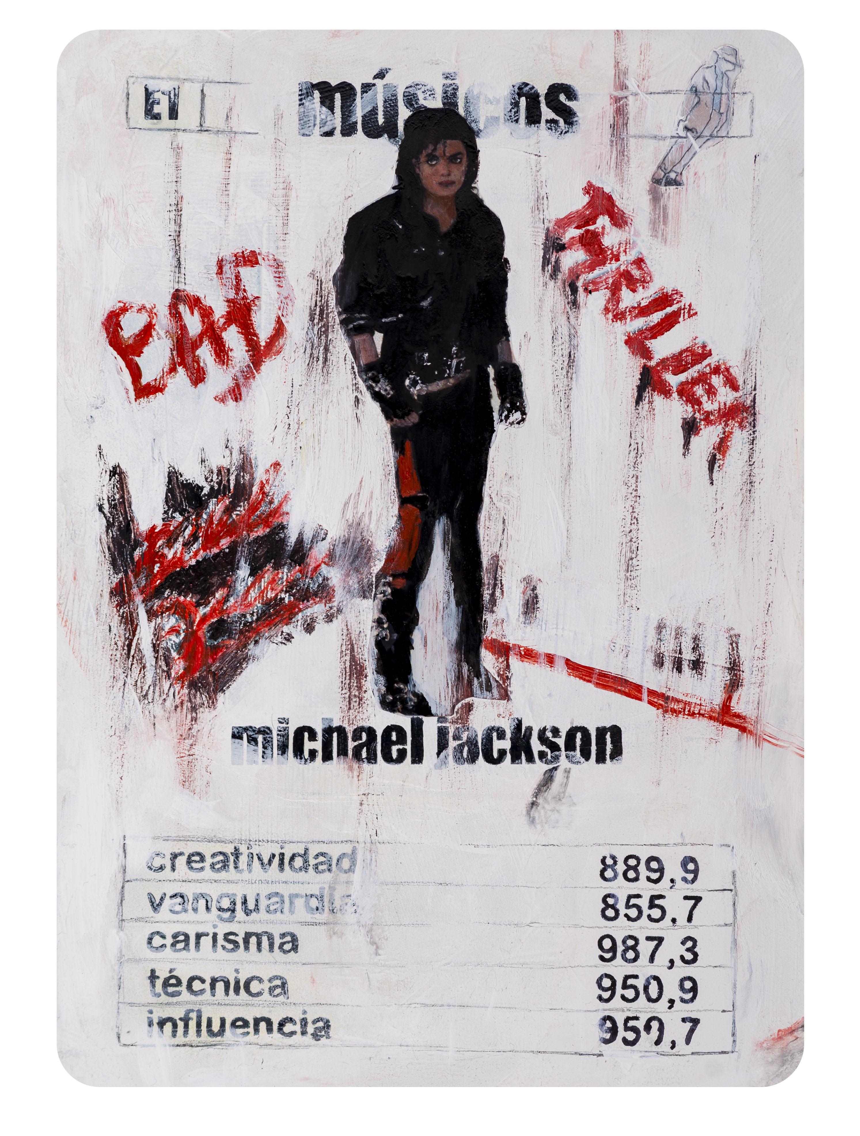E1 Naipes Michael Jackson