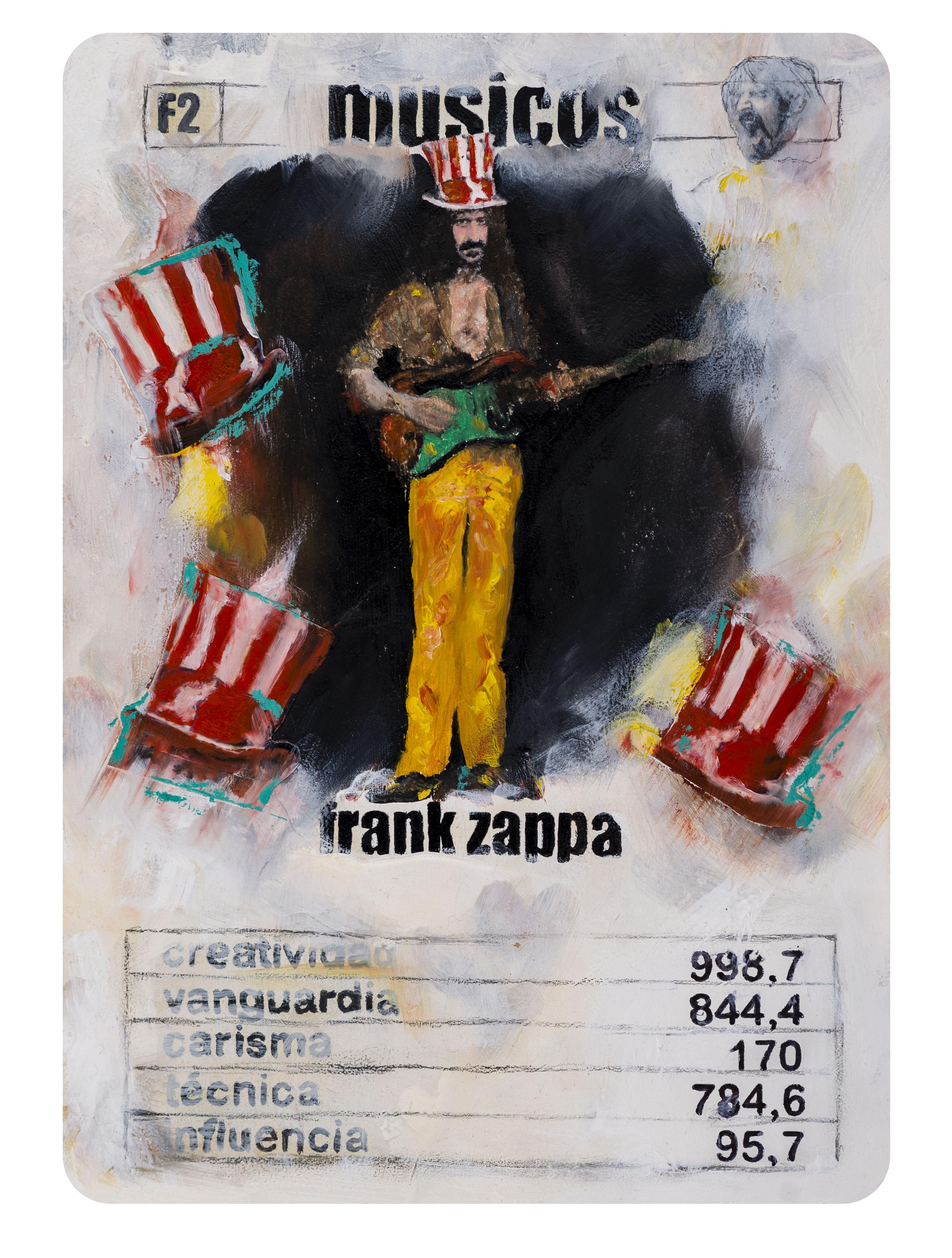 F2 Naipe Frank Zappa