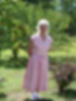 Sue 1940's dress summer 2010 Centered an