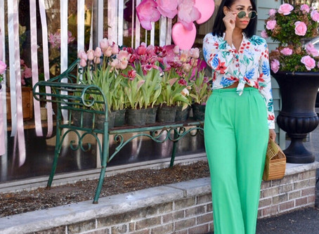 Spring Look with Pinkhouse Boutique
