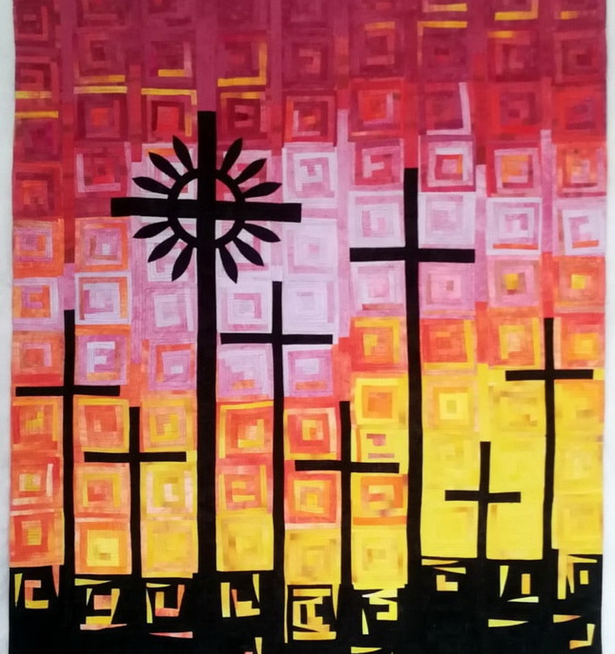 Collard Maryte - Sunset on the Hill of Crosses