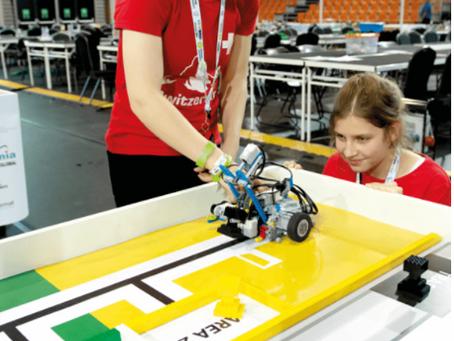 Free Lego Robotics Workshops for girls!!