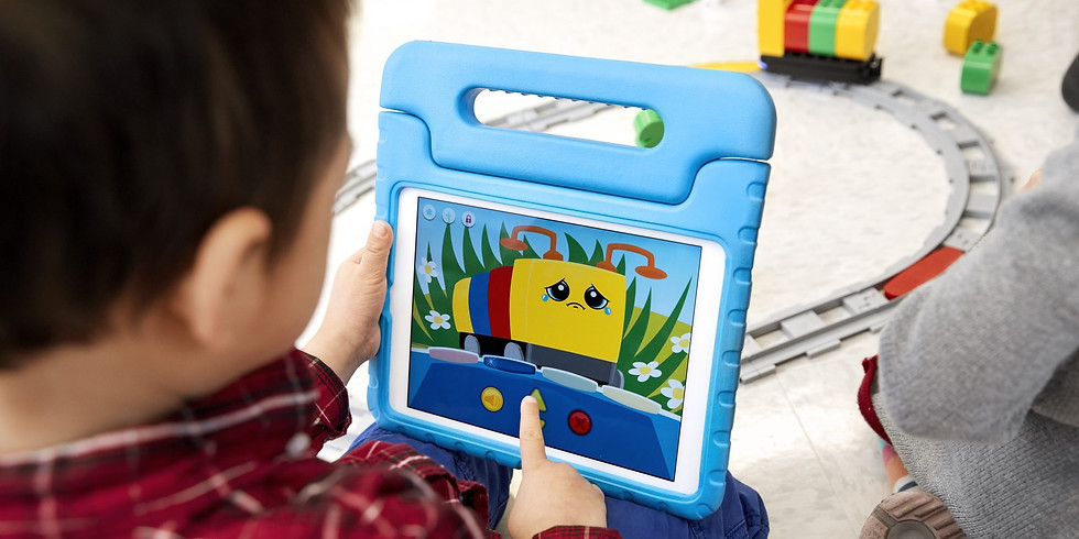 WAC Uster. For children aged 3 to 4: Inspire preschoolers to explore early programming using the Coding Express LEGO