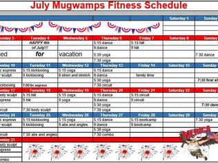 July Schedule