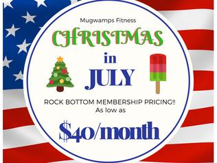 July at Mugwamps: Christmas in July