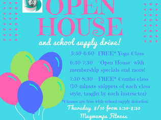 Open House and School Supply Drive
