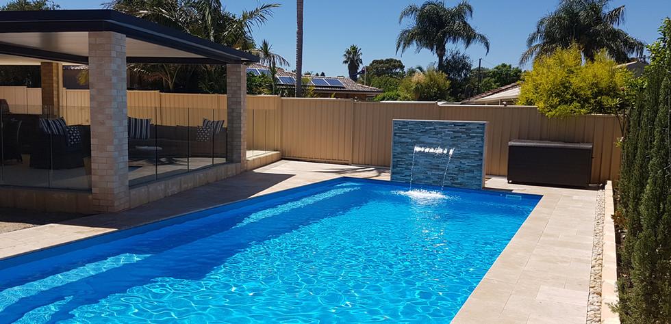 Large Fibreglass Swimming Pool Greenwest